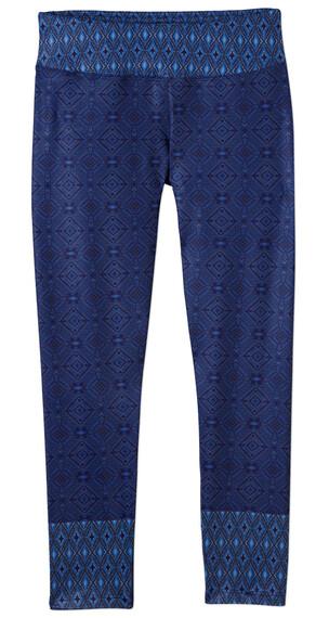 Prana W's Roxanne Printed Legging Blue Santorini